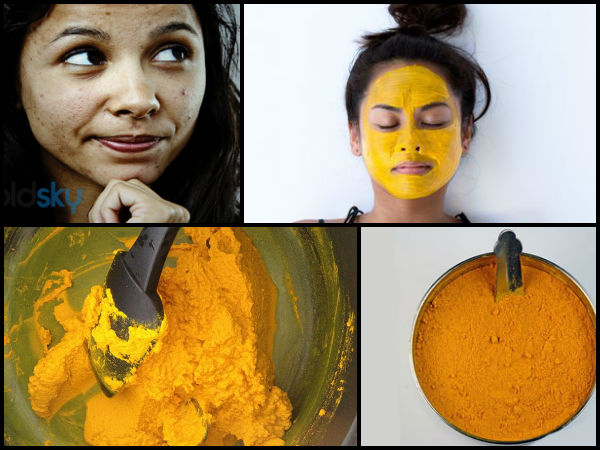 GET GLOWING SKIN WITH TURMERIC MASK