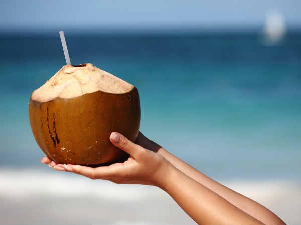 8.नारियल पानी