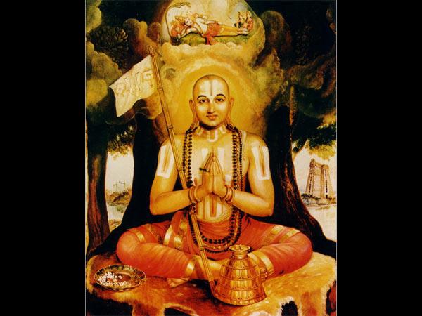21 अप्रैल 2018: वैष्णव संप्रदाय के प्रमुख आचार्य रामानुज की जयंती आज