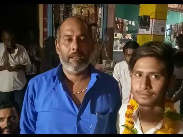 This man threw a party after son failed class 10 exam