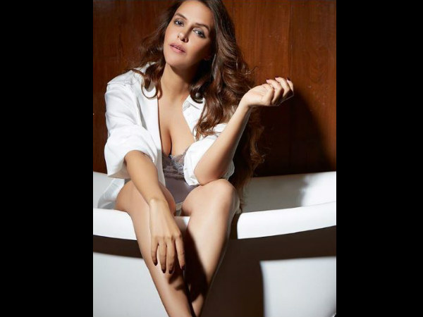 New bride Neha Dhupia Sizzles in this HOT Photoshoot