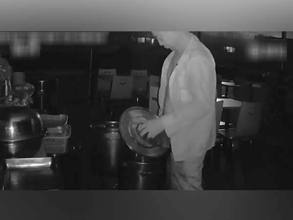 CCTV Footage Shows Restaurant Owner Urinating In Rival's Soup