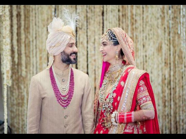 Sonam Kapoor, Anand Ahuja tie the knot in an Anand Karaj ceremony