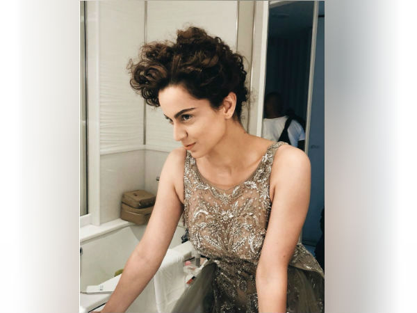 Cannes 2018: Debutant Kangana Mesmerizes In A Backless Gown