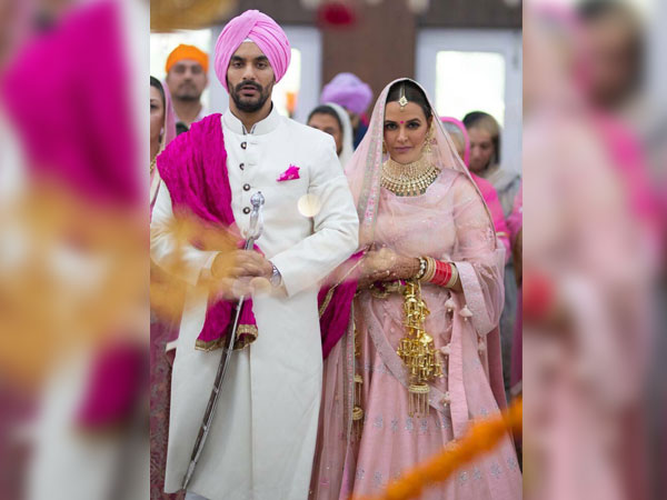Neha Dhupia ties the knot with Angad Bedi in Private Ceremony