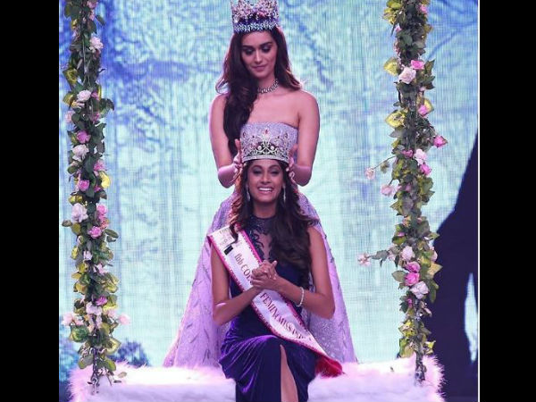 Anukreethy Vas From Tamil Nadu Crowned Miss India 2018