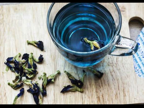 Have You Tried the Blue Tea?