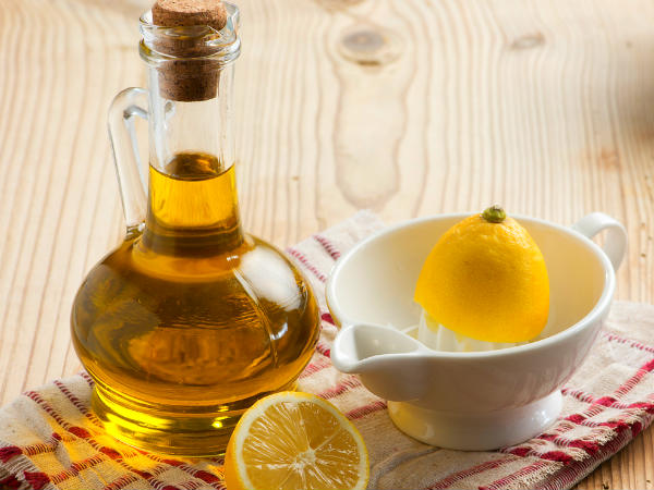 The Healing Benefits of Olive Oil & Lemon