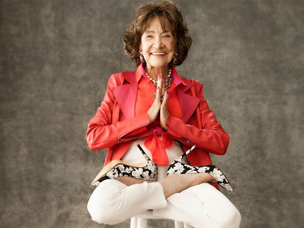 Tao Porchon-Lynch is the worlds oldest yoga teacher