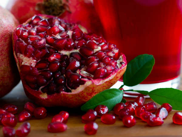 Pomegranate Peel And Besan Face Pack For Dry Skin