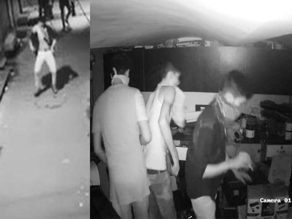 पहले किया डांस फिर की चोरी,  नाचते हुए चोर का वीडियो हुआ वायरल