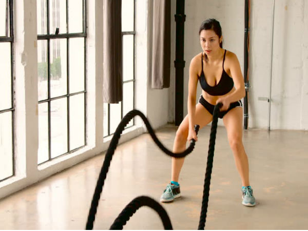 How to Do Battle Rope Workouts to Lose Weight