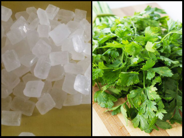 Coriander and Misri have multiple health benefits