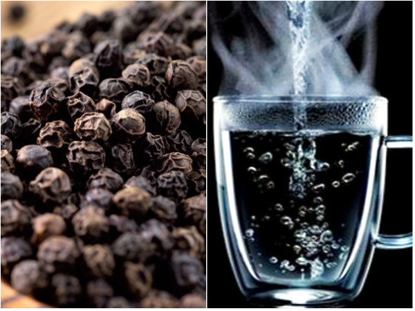 Benefits Of Black Pepper With Warm Water