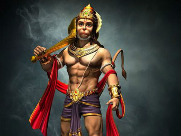 Hanuman worship on tuesday