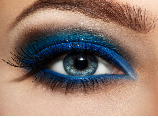 perfect blue eyeshadow