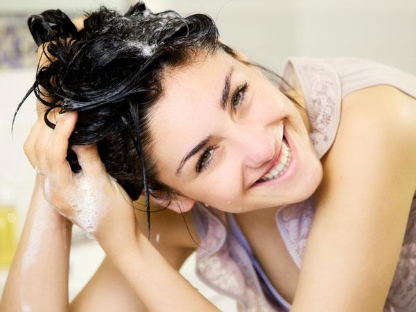 बाल ना धोएं