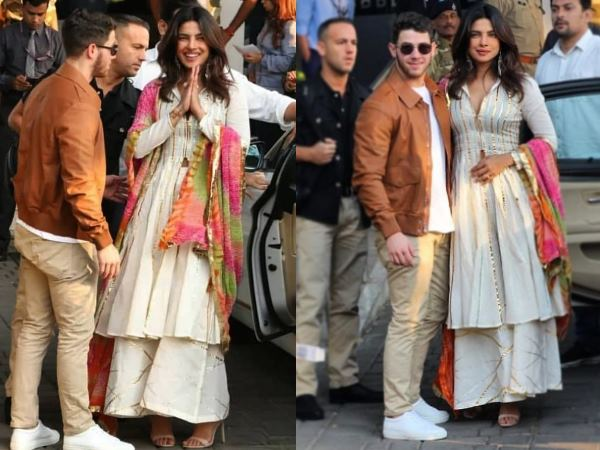 Priyanka & Nicks Airport Looks Are Minimal And Awesome