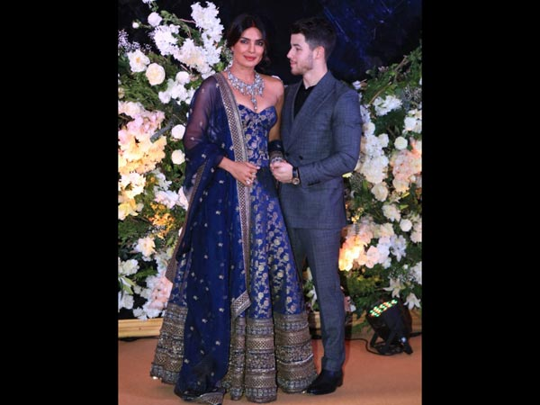 What Priyanka Chopra and Nick Jonas wore to wedding reception in Mumbai