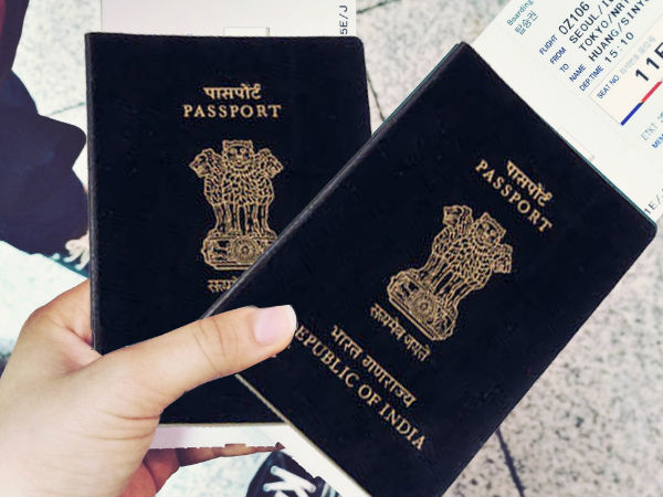 Kerala Woman Turns Husbands Passport Into Phone Directory & Grocery List!