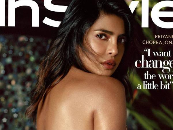 प्रियंका चोपड़ा ने बैकलेस साड़ी में कराया फोटोशूट, ट्रोलर्स ने कहा- वल्गर