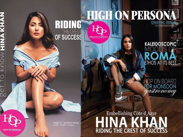 Hina Khan Wows Everyone With Her Sporty Avatar On Magazine Cover