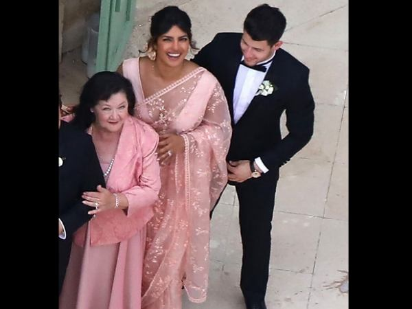 Sophie Turner And Joe Jonas Wedding. Priyanka Chopra Wore A Saree