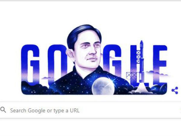 Google ने खास Doodle बनाकर विक्रम साराभाई को किया याद, भारतीय अंतरिक्ष कार्यक्रम के थे जनक