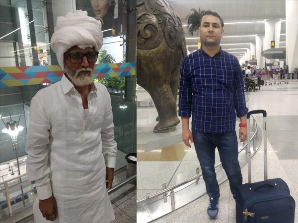 अमेरिका जाने की सनक में 32 साल का युवक बना 81 साल का बूढ़ा, एयरपोर्ट में पकड़ा गया