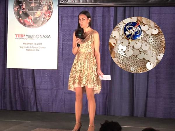नासा की महिला वैज्ञानिक की ये ड्रेस की तस्वीर सोशल मीडिया पर वायरल,  8 साल पुराना किस्सा बताया