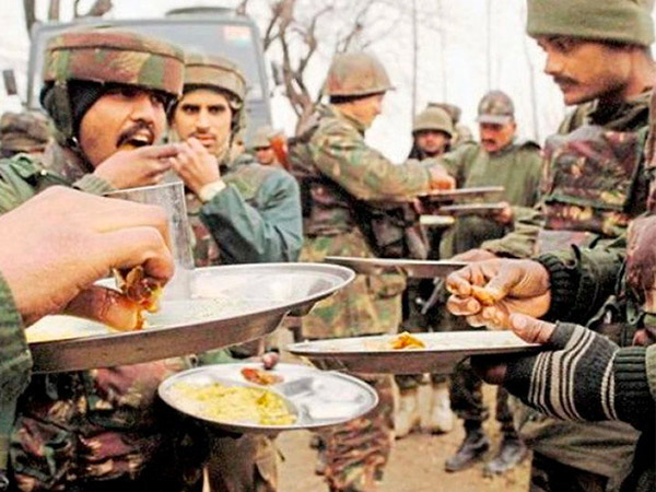 What Does The Indian Army Eat in Boarder?