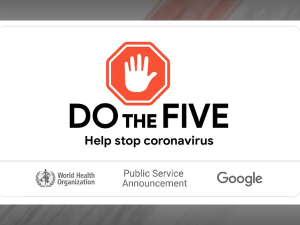 Google adds coronavirus safety tips to its homepage