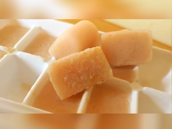 Potato Juice Ice Cubes