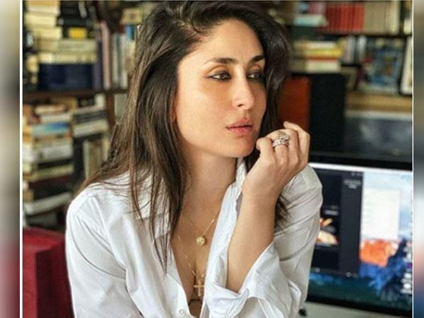 करीना कपूर ने सैफ अली खान की व्हाइट शर्ट में कराया फोटोशूट, देखें ग्लैमरस लुक