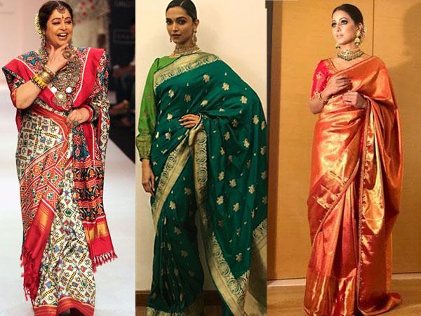 बॉलीवुड एक्ट्रेस करती हैं हैंडलूम साड़ियों की डिमांड, खास लुक के लिए परफेक्ट ड्रेस