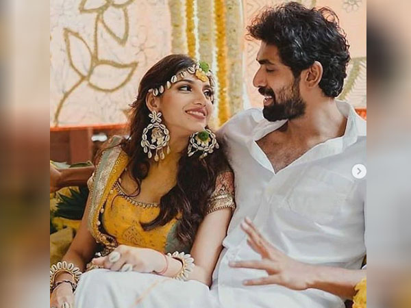 हल्दी सेरेमनी में राणा दुग्गुबाती और मिहिका  बजाज का दिखा रॉयल लुक, देखें फोटो