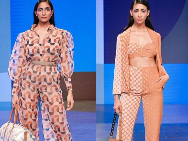 लैक्मे फैशन वीक 2020:डिजिटल प्लेटफॉर्म पर दिखा अमित वाधवा का कावेरी कलेक्शन, संदीपा धर बनीं शोस्टॉपर