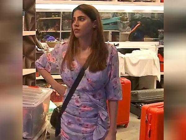 बिग बॉस 14 कंटेस्टेंट निक्की तंबोली इन रफल्स ड्रेस में लग रही हैं बेहद ब्यूटीफुल