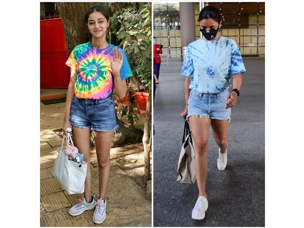 Alia Bhatt And Ananya Pandey