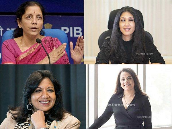 फोर्ब्स: दुनिया की 100 सबसे शक्तिशाली महिलाओं में है ये 4 भारतीय महिलाएं