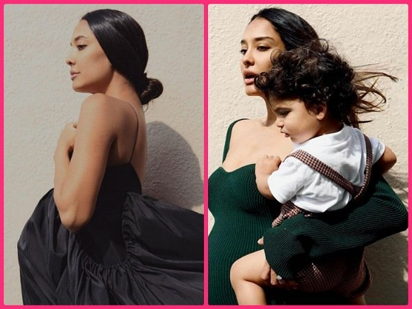 Lisa Haydon Flaunts Her Baby Bump And Sets Maternity Goals In Green And Black Dress