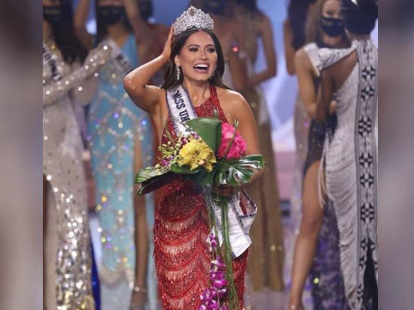 मैक्सिको की एंड्रिया मेजा ने जीता मिस यूनिवर्स 2021 का खिताब, टॉप फाइव में रहीं मिस इंडिया एडलिन कैसलीनो