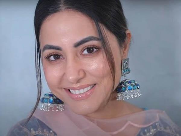 हिना खान ने शेयर किया खूबसूरत डेवी मेकअप लुक, देखें ट्यूटोरियल वीडियो