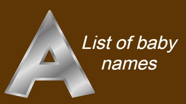 A अक्षर से हिन्दू लड़कियों के लेटेस्ट नाम और उनके अर्थ