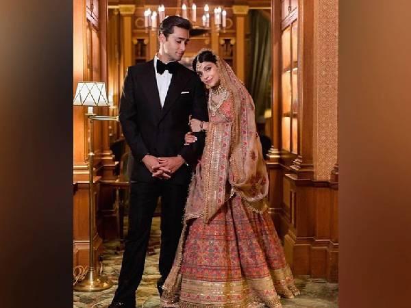 पाकिस्तान के पूर्व प्रधानमंत्री नवाज शरीफ के पोते की बहू ने शादी में पहना सब्यसाची का लहंगा, देखें खूबसूरत लुक