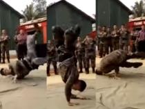 'आलू चाट' पर आर्मी जवान के डांस का वीडियो हो रहा वायरल