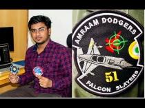 21 साल की उम्र में इस डिजाइनर ने बनाए IAF के दो स्पेशल पैच