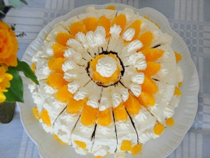 Orange Cake Cooker Recipe With Egg