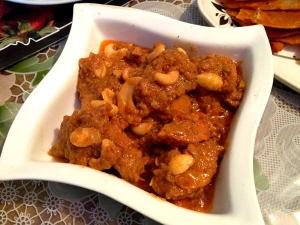 Indian Cashew Chicken