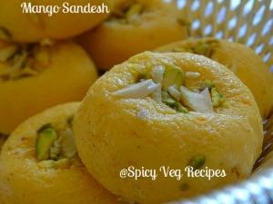 Mango Sandesh Recipe
